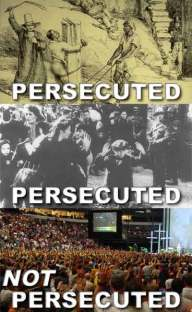 Not Persecuted